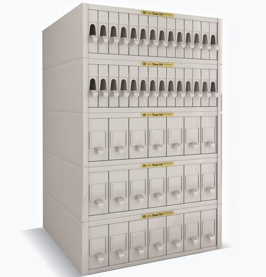 Tissue-Tek<sup>®</sup> Lab Aid<sup>®</sup> Filing Cabinet System