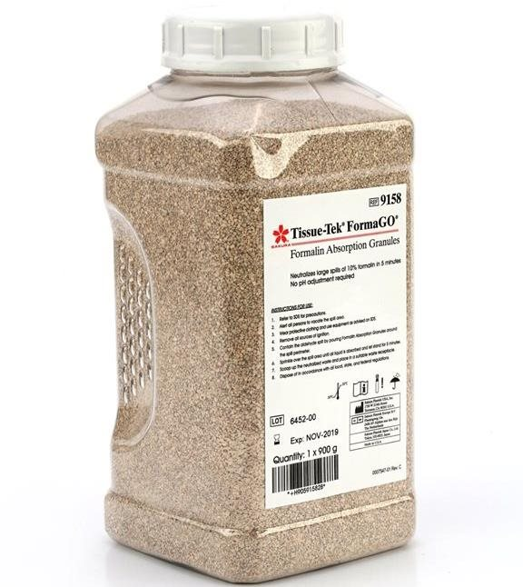 Tissue-Tek<sup>®</sup> FormaGO<sup>®</sup> Formalin Absorption Granules